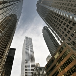 Photo : Bay Street, quartier financier de Toronto