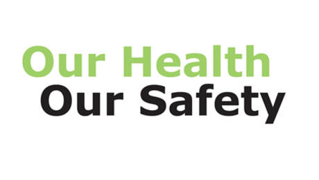Logo : Our Health Our Safety